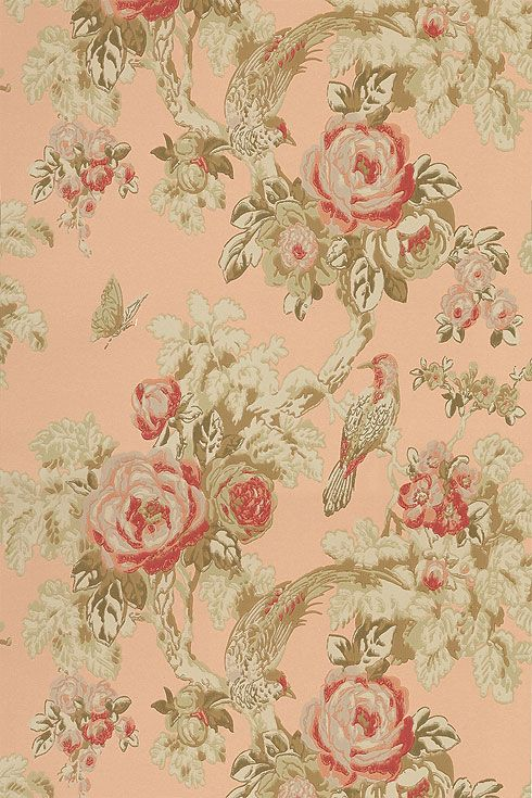 21 Best Vintage Wallpaper Images On Pinterest
