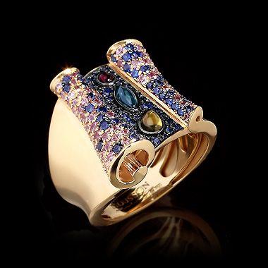 Кольцо magic carpet - купить в Mousson Atelier