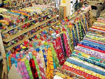 Hawaiian Fabric Mart - fabrics at wholesale prices, three locations on Oahu-loved this store! Awesome fabric for souvenir projects for a couple of Ohioans!