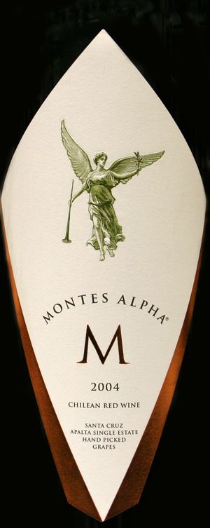 Montes Alpha M, estupendo vino Chileno