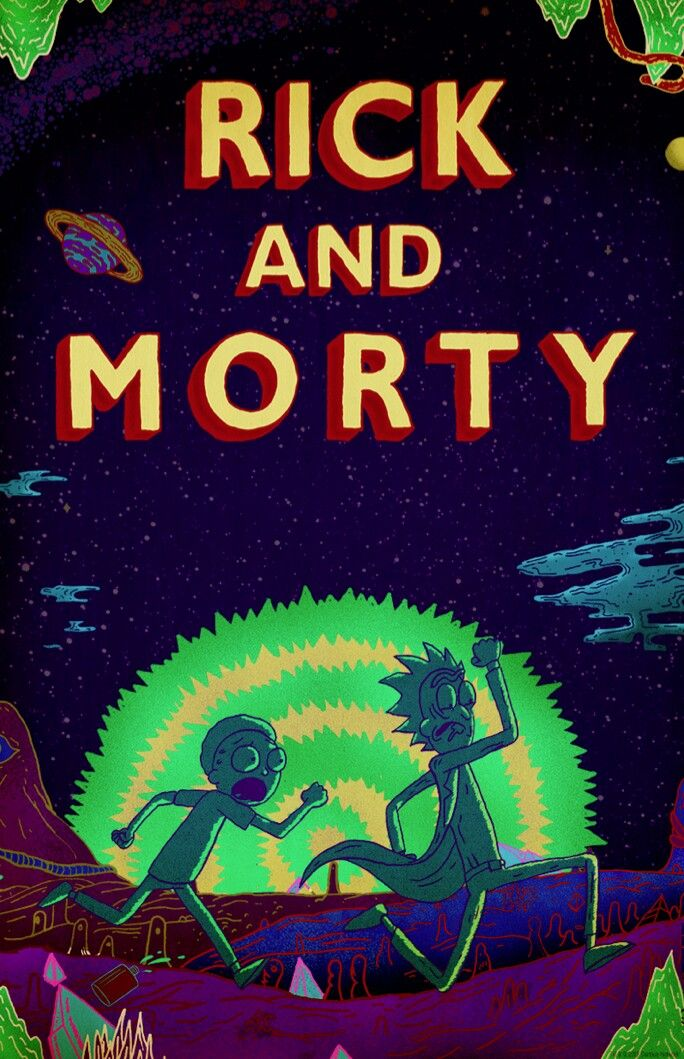 Image result for Rick and Morty poster