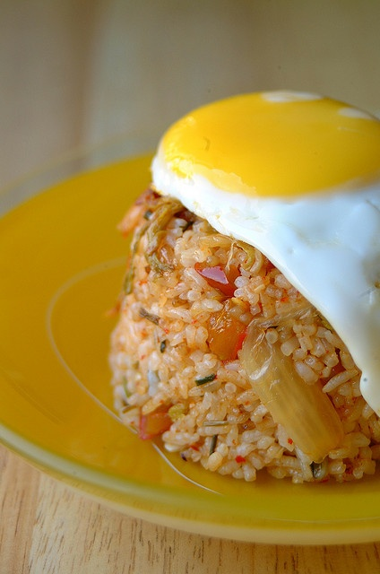 kimchi fried rice stirfry pork 036 by 80 Breakfasts, via Flickr
