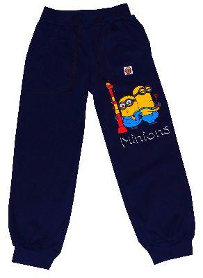 Spodnie,dres MINIONKI -granatowe-chłopiec