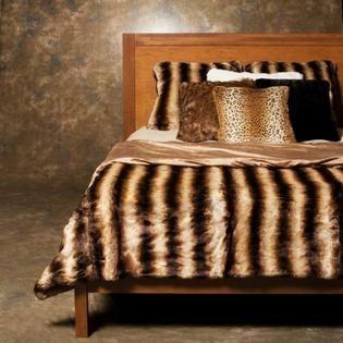 1000 Images About Faux Fur Duvet Cover On Pinterest
