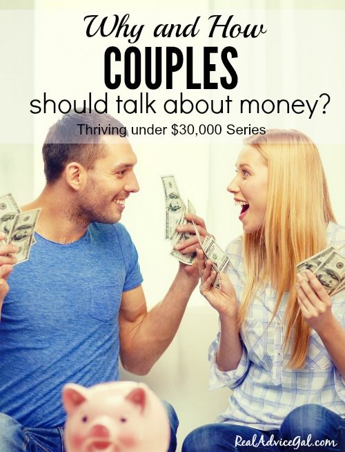 how to talk about money in a relationship