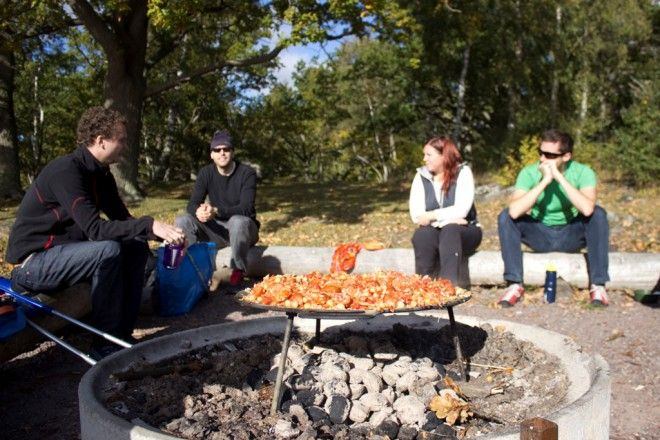 Food tastes best when in nature!List of All The Countries Danmark Denmark The Republic of Joy Richard Preuss