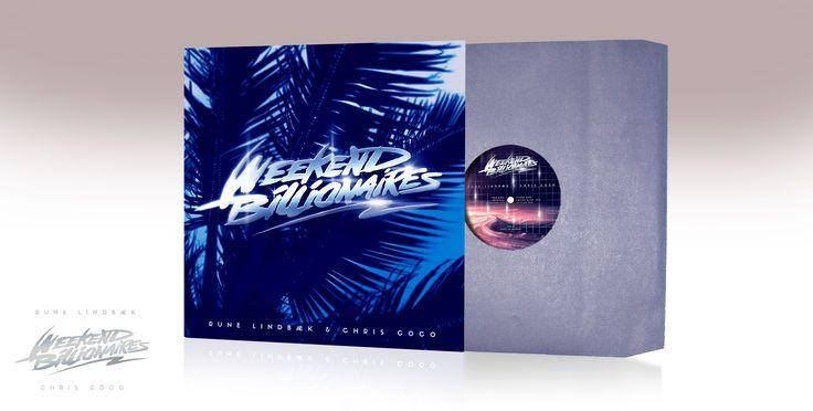 Дизайн для сингла Weekend Billionaires от супер-дуэта Rune Lindbæk и Chris Coco. Трек и ремиксы очень хороши, кстати.