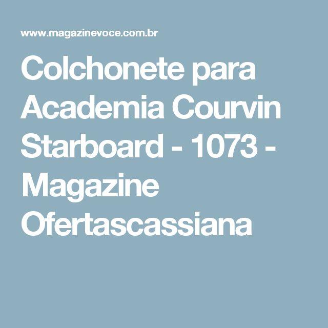 Colchonete para Academia Courvin Starboard - 1073 - Magazine Ofertascassiana