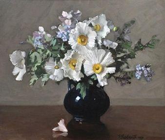 Floral Arrangement By Ernest Buckmaster ,1933