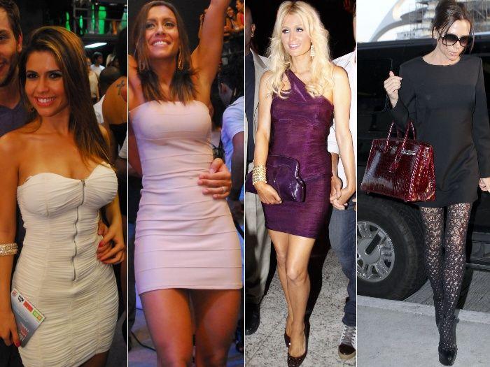 Vestidos justos - 4 modelos
