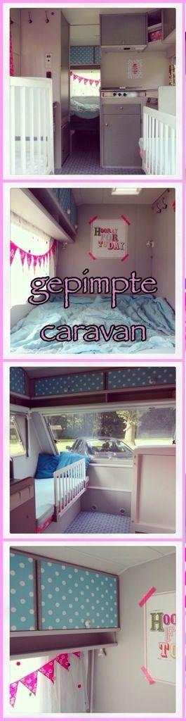 Zomerhuis op wielen: de 10 leukste ideeën om een caravan te pimpen #gepimpte…