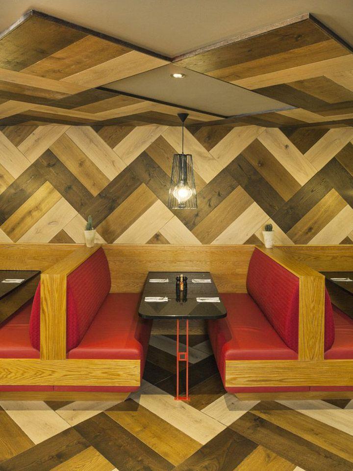 Chimichanga Mexican restaurant by Brown Studio, Billericay, UK