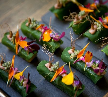 Edible flowers are featured in a number of dishes at Virgilio Martínez's restaurant Central, Lima, Peru. http://www.nytimes.com/2015/06/21/travel/what-to-do-in-36-hours-in-lima-peru.html?_r=0