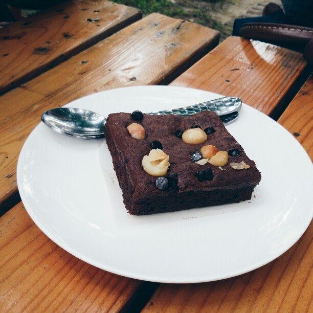 macadamia brownie #Gloriahouse
