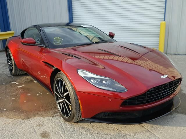 Salvage 2017 Aston Martin Db11 Coupe For Sale | Flood Title