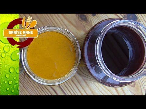 Sarı ve Kırmızı Doğal Gıda Boyası - YouTube