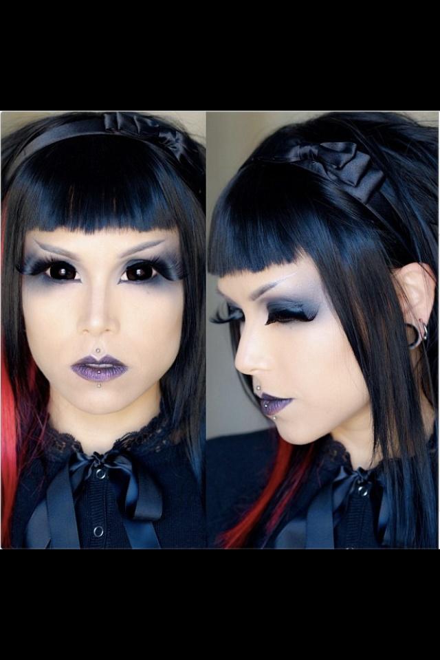 dark tunnel dweller makeup