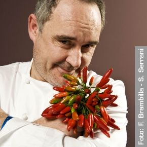 Ferran Adrià. Restaurante El Bulli - Roses, Spagna  http://www.identitagolose.it/sito/it/protagonisti.php?id_cat=6&id_art=157