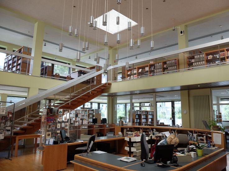 La bibliothèque universitaire, UCO, Angers - Photo MNC