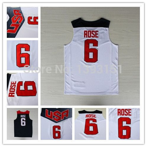 This is nice, check it out!   #6 Derrick Rose USA Jersey Dream Team Authentic Jersey Best 2014 Derrick Rose USA Olympic Games Blue White Basketball Jersey - US $17.99 http://sportsellworld.com/products/6-derrick-rose-usa-jersey-dream-team-authentic-jersey-best-2014-derrick-rose-usa-olympic-games-blue-white-basketball-jersey/