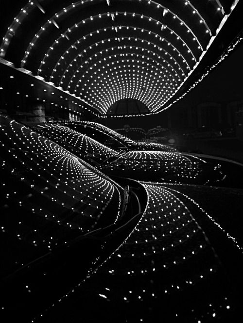 ✯ Black and White Light Show✯