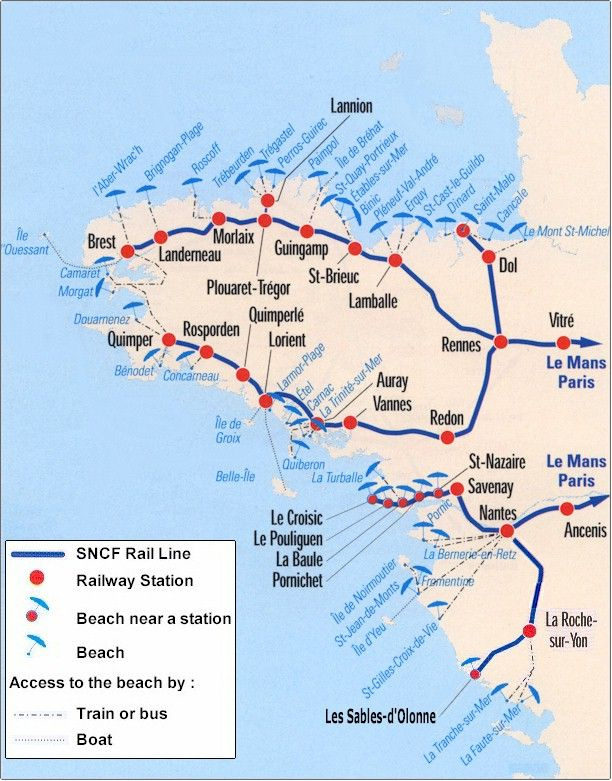 brittany by train - Google Search