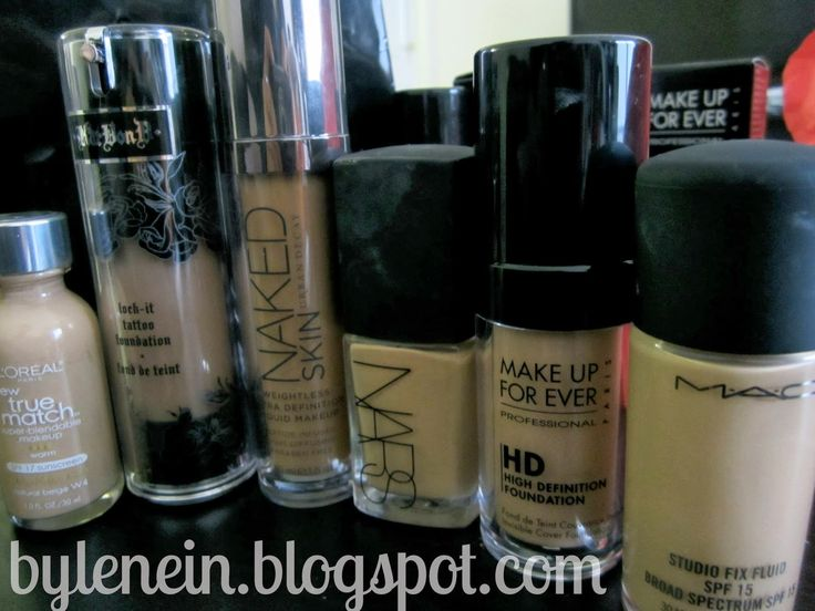 by: lenein: Foundation matches for MAC NC30 Skin tones (MAC, Kat Von D, Urban Decay, Loreal, NARS, MUFE)