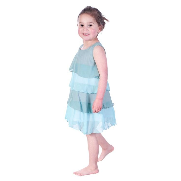 Blue Layer Dress