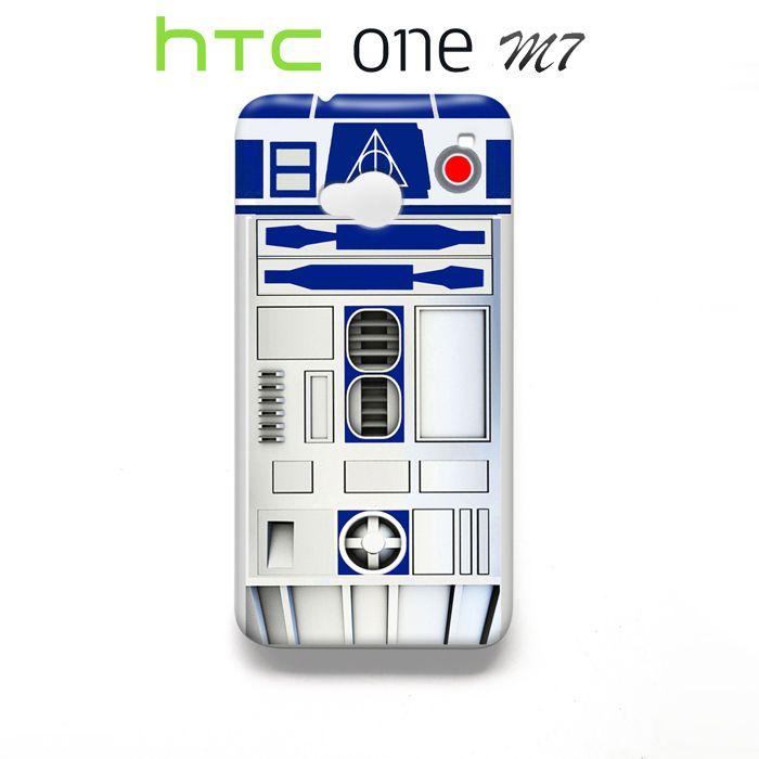 Star Wars R2D2 HTC One M7 Case Wrap Around
