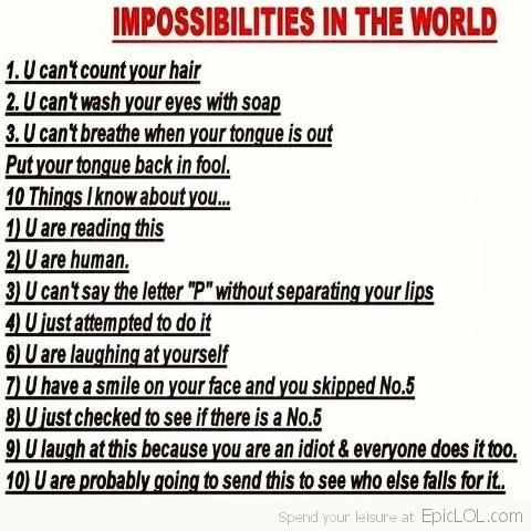 Funny stuff!! This is really, really creepy!!!! (Read it and you'll know what I mean! :0)