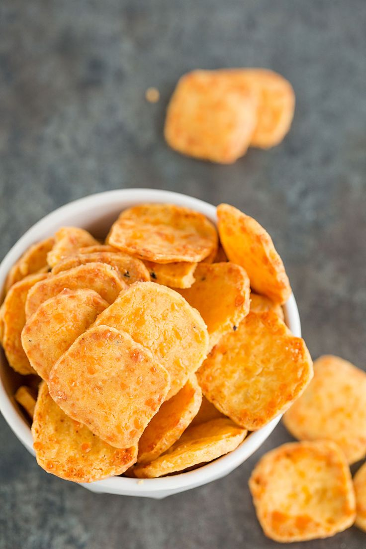 Homemade Spicy Southern Cheese Crackers! Nothing beats from scratch!