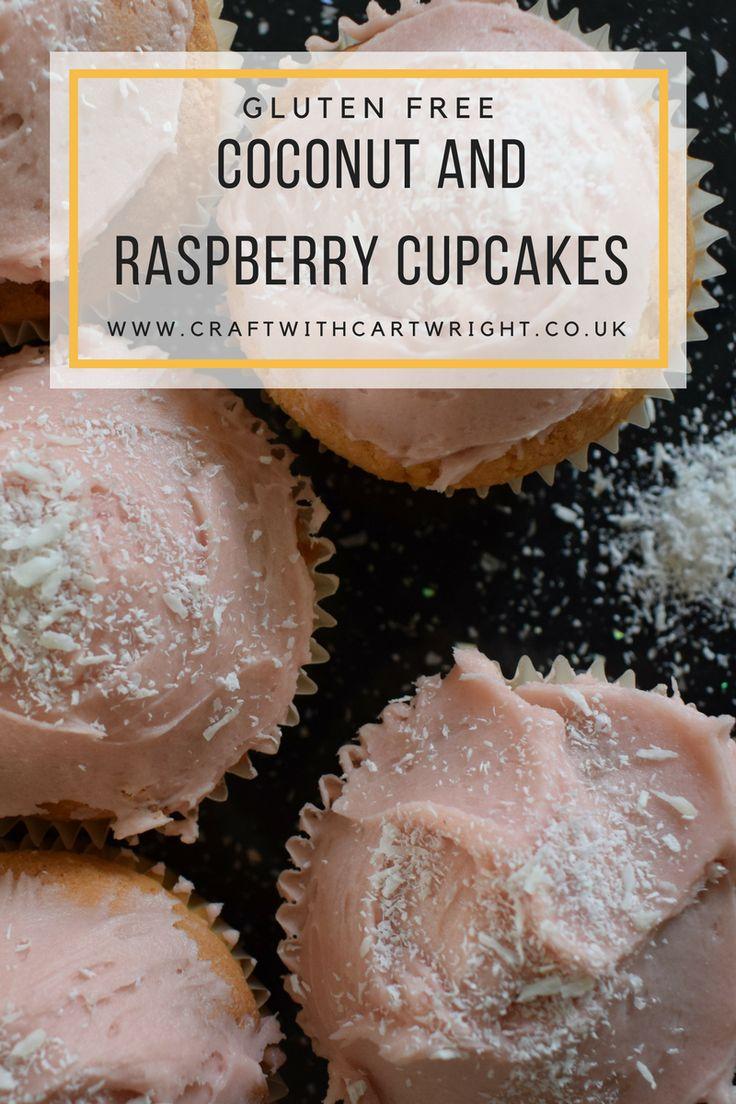 Gluten free Coconut and Raspberry cupcakes recipe