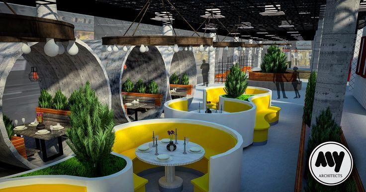 Restoran Tasarımı | Muharrem Yıldırım Architects  #muharremyildirim #myarchitects #muharremyildirimarchitects #mya #muharremyildirimmimarlik