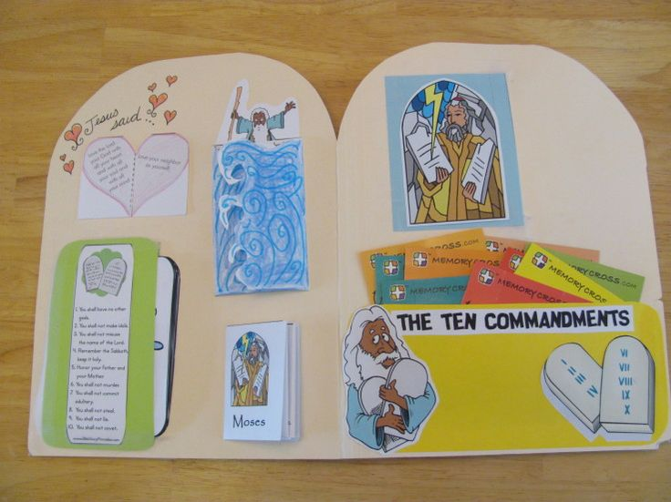 ten commandments craft ideas 17 best images about lapbooks on homeschool 5543
