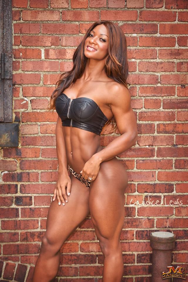 Nude lady body builders — 14