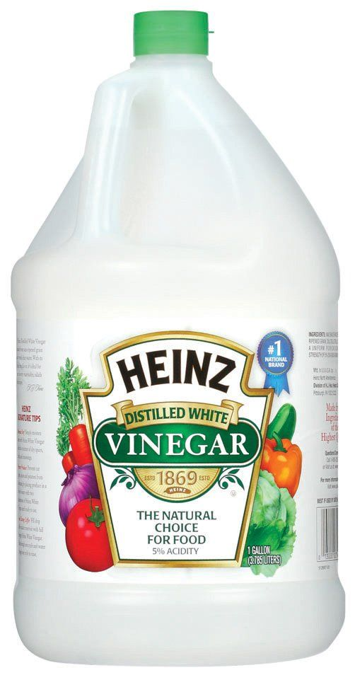 Rid your garden of bugs and aphids by spraying your plants with a solution of vinegar and water. 1 cup vinegar to a gallon of water. Vinegar is a natural pesticide.
