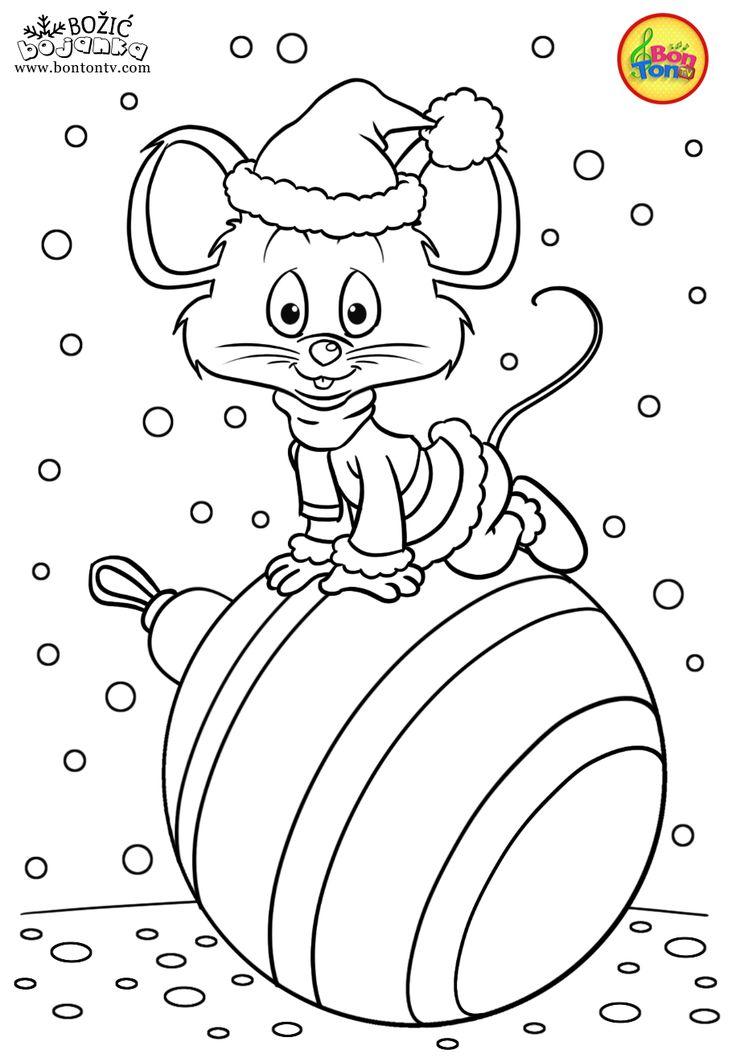 Christmas Coloring Pages Božić bojanke za djecu Free