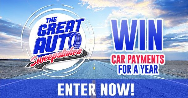 Enter Now And One Lucky Person Will Have Their Car Payments Paid