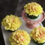 How to Pipe Frosting Flowers on Cupcakes