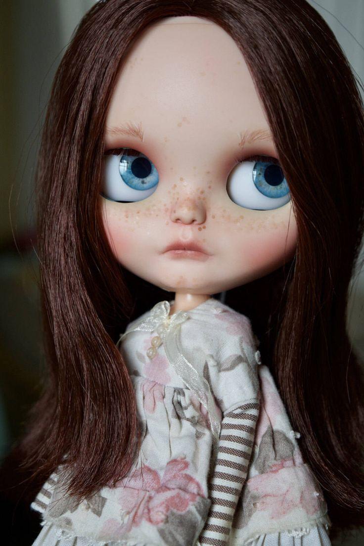 OOAK ChassyCat Custom Bohemian Peace Blythe Doll - Gemma by ChassyKnitLove on Etsy (null)