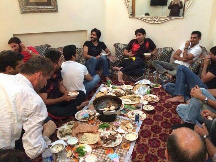 Dinner At Afridi's Home