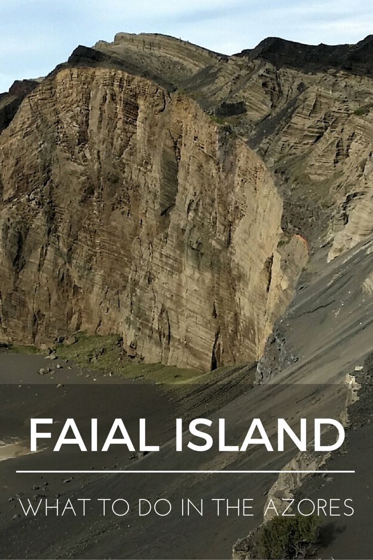 """""""What to do in the Azores: Faial Island"""" is the seventh installment of a series of nine blog posts about the Azores islands. The posts are meant to give you a detailed overview of each one of them to help you plan your trip, whether you decide to visit one, two, or all nine."""