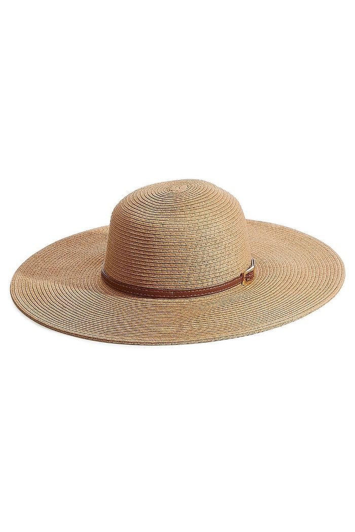 3105300a13f The Cutest Sun Hats for on and Off the Beach. Melissa Odabash Raffia Sun Hat