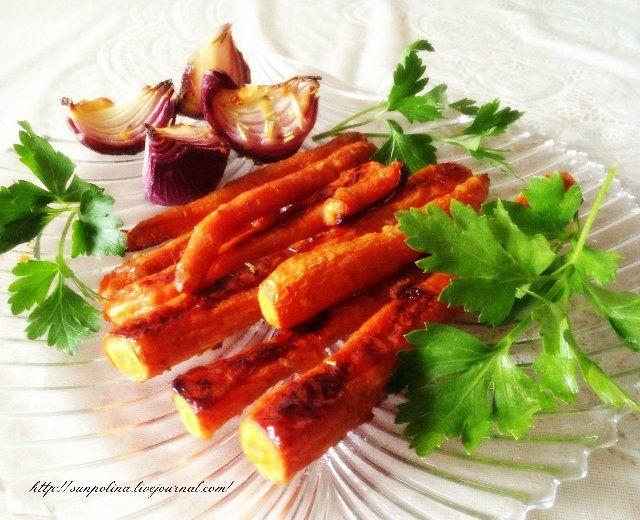Солнечная - Запечённая медовая морковь