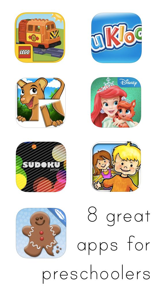 Really great iPhone and iPad apps for toddlers and preschoolers. Plus, lots of them are free!