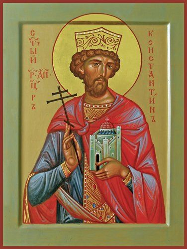 St. Constantine the Great Orthodox icon