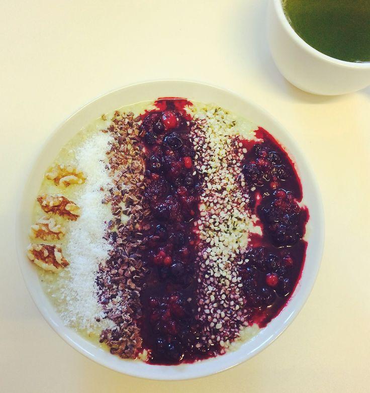 Porridge mit Früchte - Kickstart am Morgen
