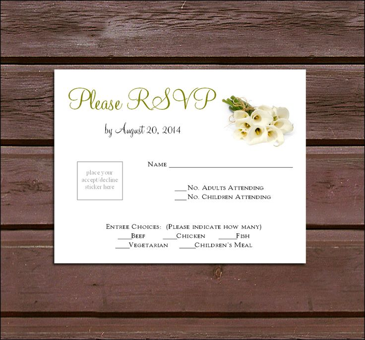 109 best Printables \ Invitations images on Pinterest Households - best of invitation wording lunch to follow