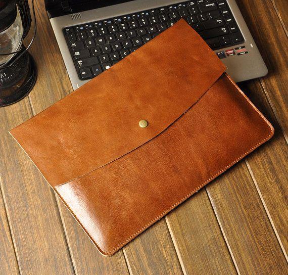 Leather Macbook Pro 15 Sleeve