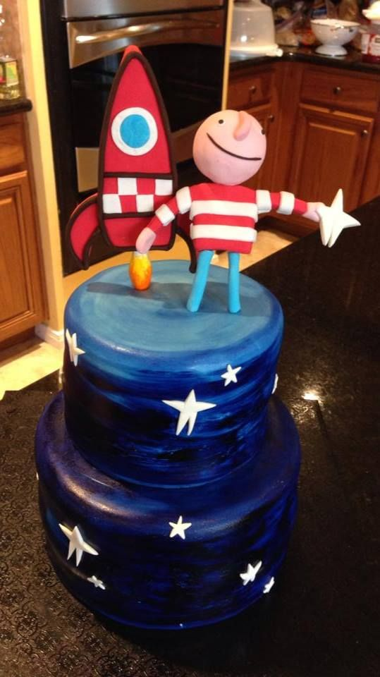 Oliver Jeffers How to Catch a Star Cake https://www.facebook.com ...